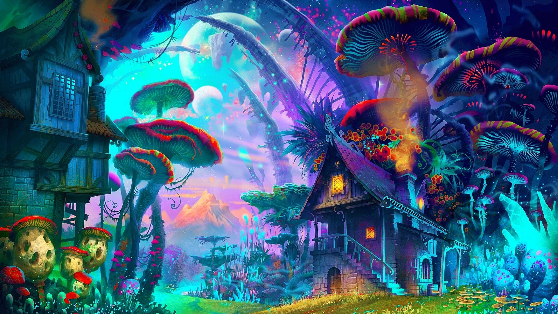 Trippy House Music Of Shroom House