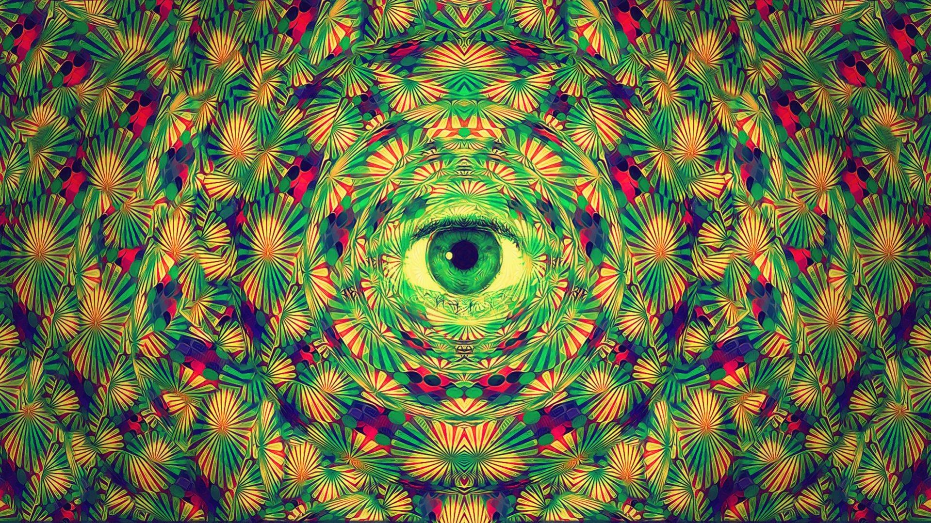 Digital trippy psychedelic for Trippy house music